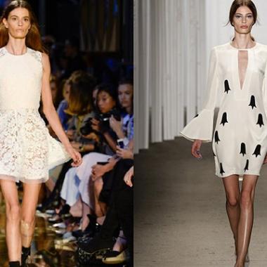 Cassi Van Den Dungen de retour sur les podiums de la New York Fashion Week après la polémique sur sa maigreur