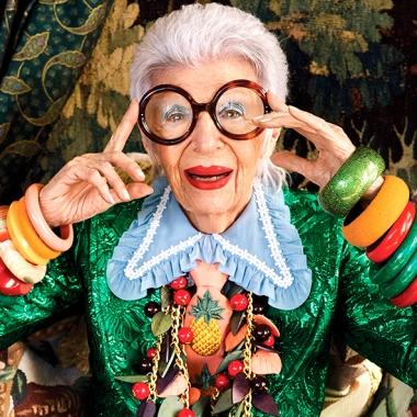L'agence de mannequins IMG signe Iris Apfel à l'âge de 97 ans