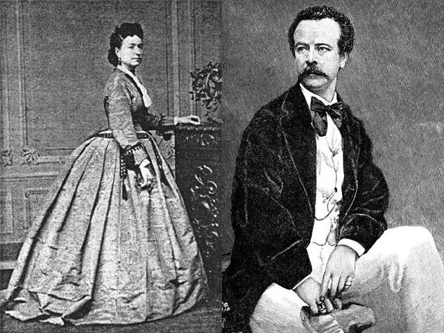 Marie Augustine Vernet ・ Charles Frederick Worth