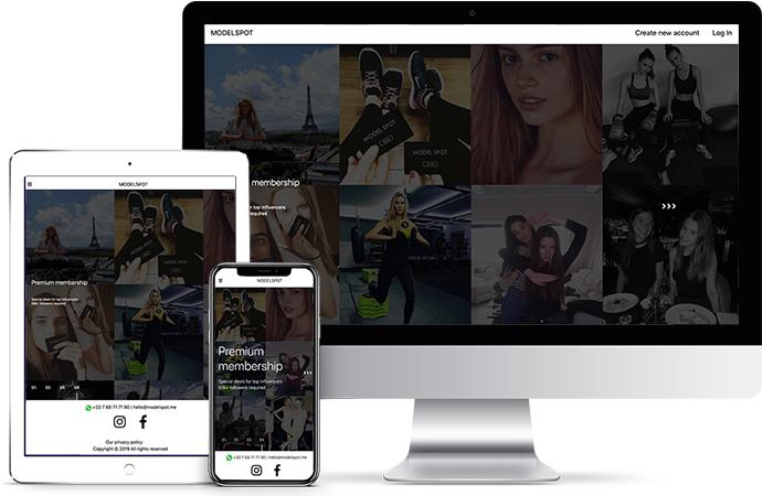 Modelspot Paris (Models App) Modelspot.me