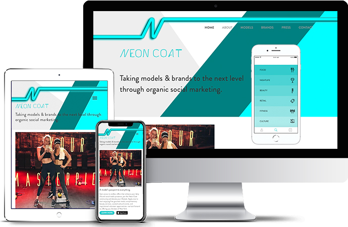 Neon Coat (Models App) NeonCoat.com