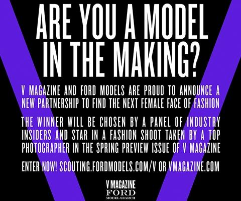 Walk With Karl : grand casting mannequin de Karl Lagerfeld par FORD Models et V Magazine