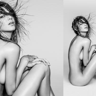 Famille Kardashian : Kendall Jenner pose entièrement nue pour le photographe Russel James
